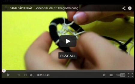 Video hướng dẫn xỏ vòng Dreamcatcher kiểu bát quái