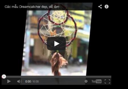Các mẫu Dreamcatcher đẹp, dễ làm của Soul Shop